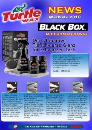 Turtle Wax Produkt [pdf] - Adamol