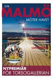111106 Där Malmö möter havet - Sydsvenskan