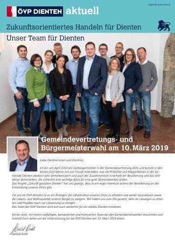 Zeitung ÖVP Dienten