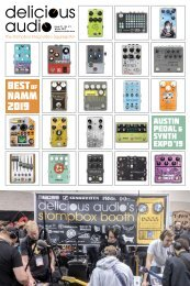 Delicious Audio #1 - Best Pedals of NAMM 2019 - Best Pedals of 2018 - Austin Pedal and Synth Expo