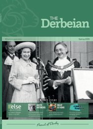 The Derbeian Magazine Spring 2019 Edition