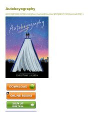 (EXHILARATED) Autoboyography eBook PDF Download