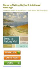 (DARING) Steps to Writing Well with Additional Readings ebook eBook PDF