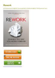 (DEFINITELY) Rework ebook eBook PDF