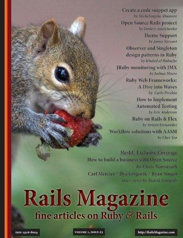 Rails Magazine - Issue 3