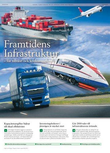 för tillväxt och konkurrenskraft - Fremtidens Infrastruktur