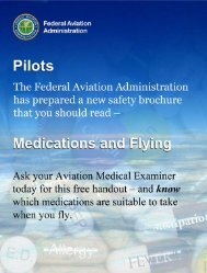 Medications and Flying Poster