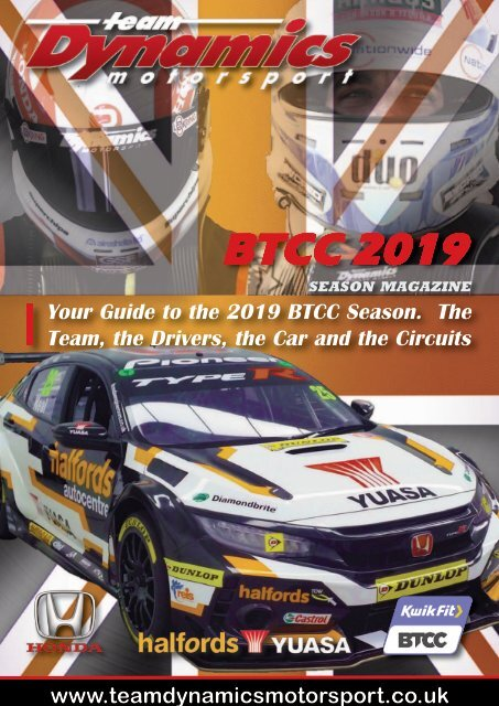 Team Dynamics 2019 Season Guide
