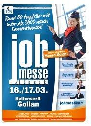 Der Messe-Guide zur 10. jobmesse lübeck