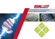 B&W Energy Imagebroschüre