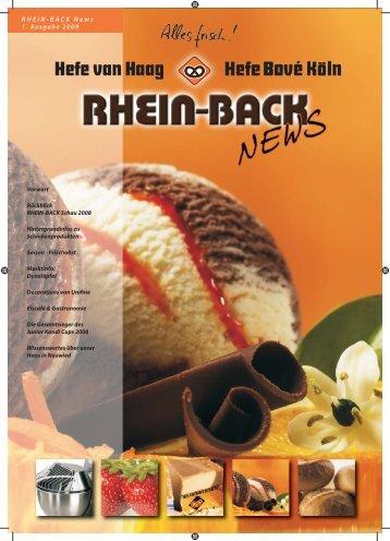 Download RB_News_1_2009 - Hefe van Haag GmbH & Co