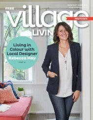 Village Living Magazine - MIDTOWN - March 2019