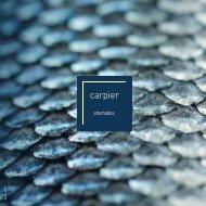 Catálogo CARPIER Marzo 2019