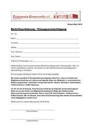 Beitritt-Lastschrift-Bürgerverein
