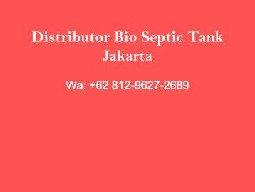 Pabrik, Wa +62 812-9627-2689, Jual Bio Septic Tank Cilincing, Jakarta Utara
