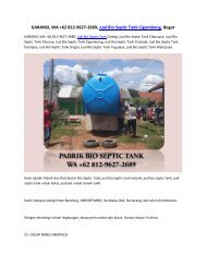 GARANSI, WA +62 812-9627-2689, Jual Bio Septic Tank Cigombong, Bogor