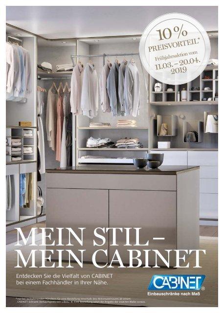 Möbel Schmitz in Trier: Frühjahrsaktion - Mein Stil - Mein Cabinet