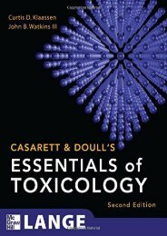 full download Casarett   Doull s Essentials of Toxicology, Second Edition (Casarett and Doull s Essentials of Toxicology) unlimited