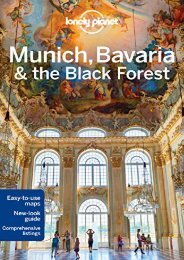 Pdf download Lonely Planet Munich, Bavaria   the Black Forest (Travel Guide) Epub