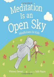 Downlaod Meditation Is an Open Sky: Mindfulness for Kids Epub