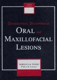 Pdf download Differential Diagnosis of Oral and Maxillofacial Lesions Pdf books
