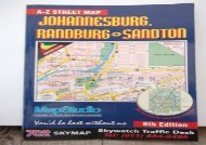 Ebooks download Johannesburg, Randburg   Sandton A-Z Street Map (A-Z Street Maps) Epub