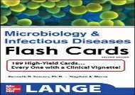 Pdf download Lange Microbiology and Infectious Diseases Flash Cards, Second Edition (LANGE FlashCards) Free acces