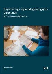 Registrerings- og katalogiseringsplan 2019-2022