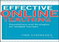 Downlaod Effective Online Teaching: Foundations and Strategies for Student Success E-book full