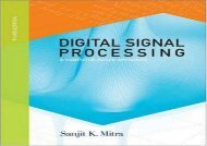 Pdf download Digital Signal Processing: A Computer-based Approach Free acces