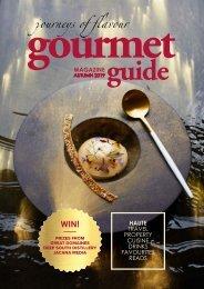 Gourmet Guide magazine - autumn 2019