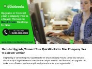 Company File to a Newer Version in QuickBooks Desktop for Mac