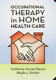 read online Occupational Therapy in Home Health Care unlimited