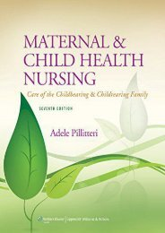 Ebooks download Maternal and Child Health Nursing: Care of the Childbearing and Childrearing Family Free acces