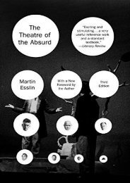 Pdf download The Theatre of the Absurd Pdf books