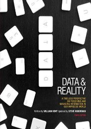 Ebooks download Data and Reality: A Timeless Perspective on Perceiving and Managing Information in Our Imprecise World, 3rd Edition full