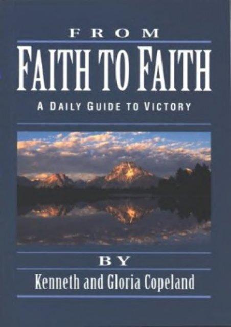 Pdf download From Faith to Faith Devotional Epub