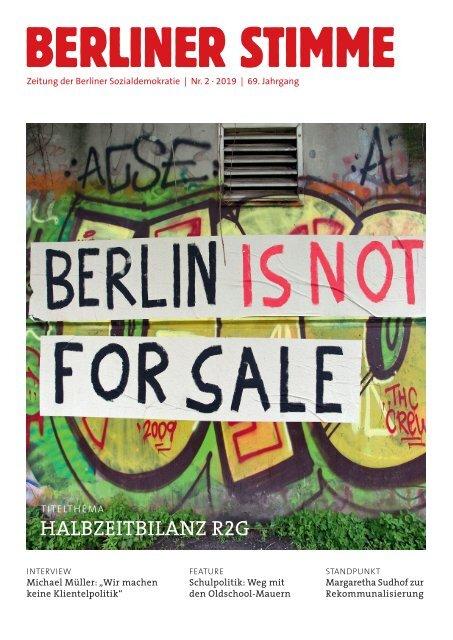 Berliner Stimme Nr. 2 2019