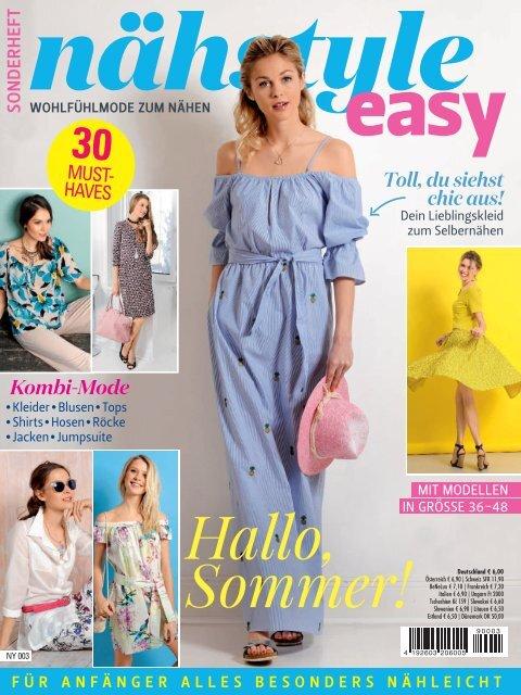 Zeitschrift: Nähstyle easy (NY003)
