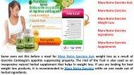 Mara Nutra Garcinia Avis 100% for Weight Loss