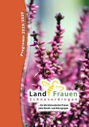 Landfrauen Schneverdingen - Programm 2019/20