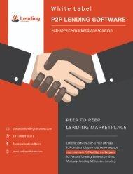 P2P White Label Lending Software Presentation