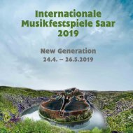 Internationale Musikfestspiele Saar 2019 - Programmbuch