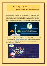 Best Digital Marketing Agency In Bhubaneswar