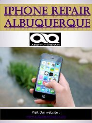 Iphone Repair Albuquerque | Call - 505-336-1907 | abqphonerepair.com