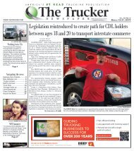 The Trucker Newspaper - March 15, 2019