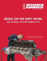 Wisconsin Kenworth - DIGITAL Parts Flyer March & April