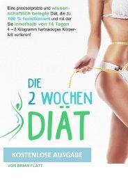 Die 2 Wochen Diät PDF E-Buch | Brian Flatt