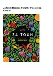 (DARING) Zaitoun: Recipes from the Palestinian Kitchen eBook PDF Download