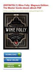 (DEFINITELY) Wine Folly: Magnum Edition: The Master Guide ebook eBook PDF
